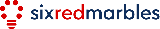 Six Red Marbles logo