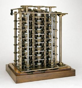 Photo of Difference Engine No. 1